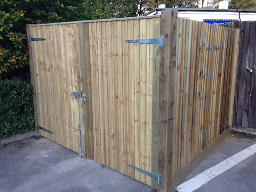 Bin Stores London Fencing Commercial And Domestic Services